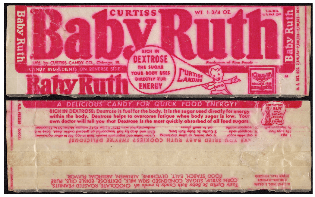 Baby Ruth wrapper