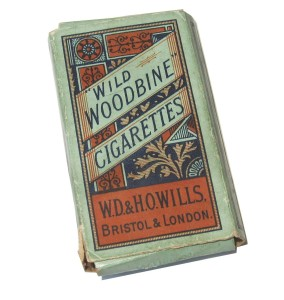 Original Wild Woodbine cigarettes pack