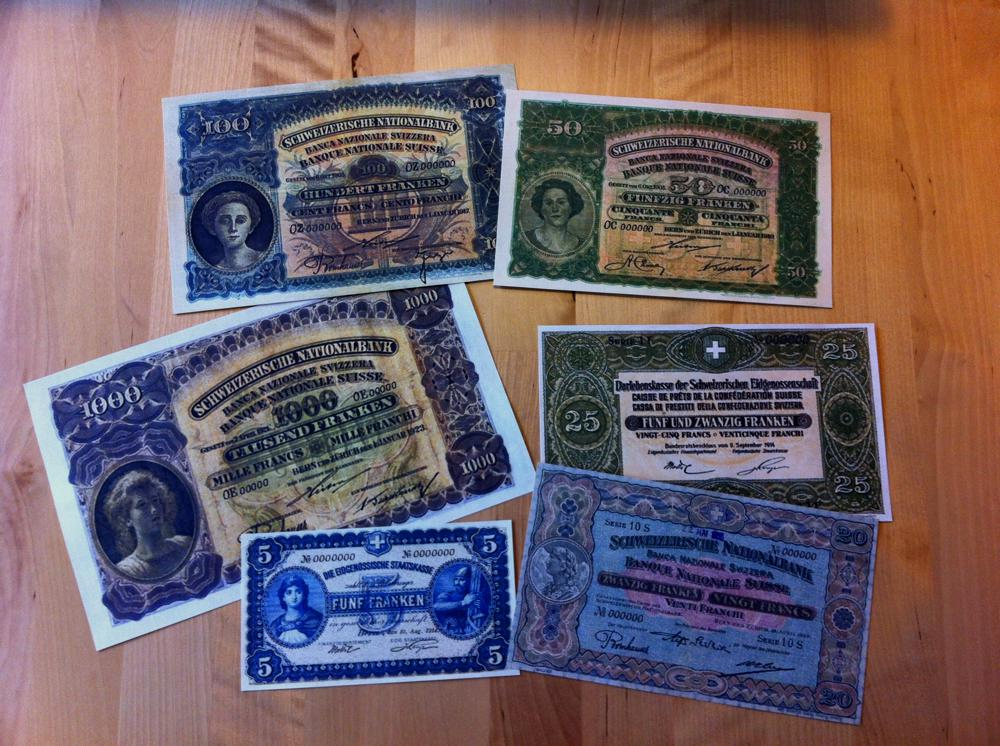 The Banknotes I bought on eBay