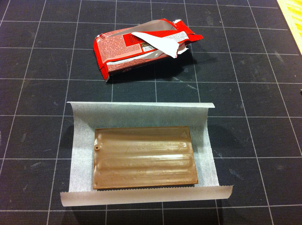 Wrap a KitKat bar