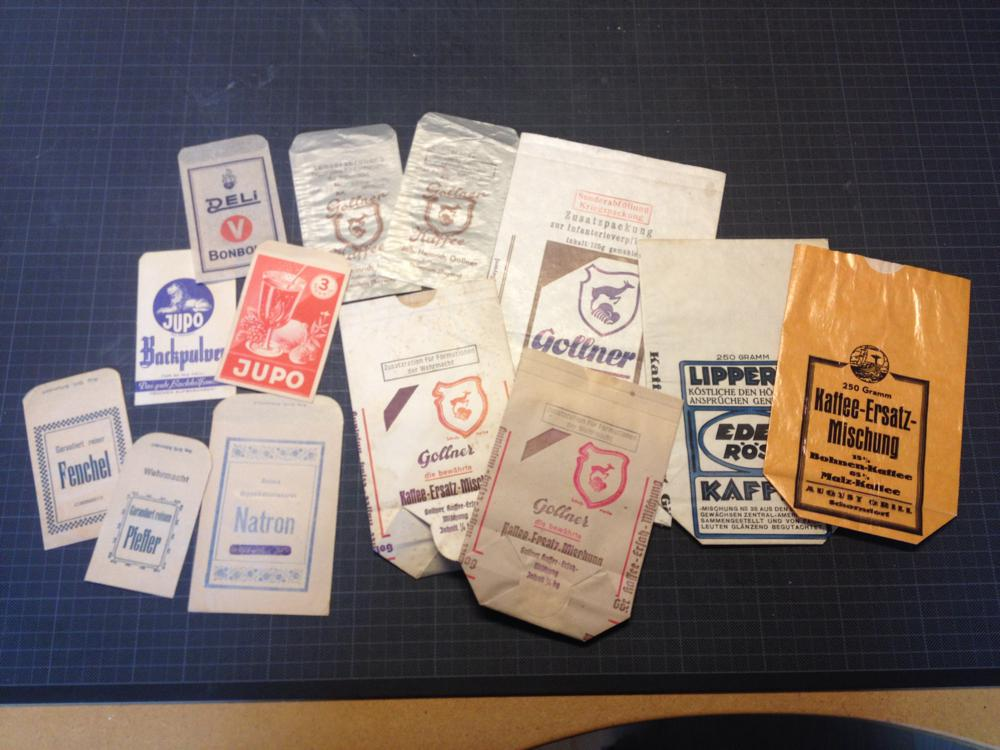 German ration bags