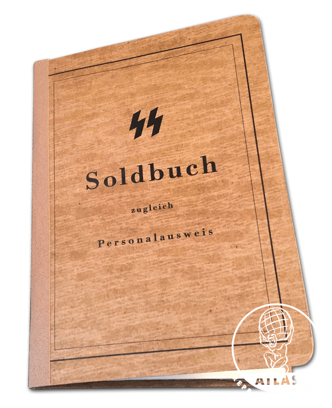 SS Soldbuch brown cover